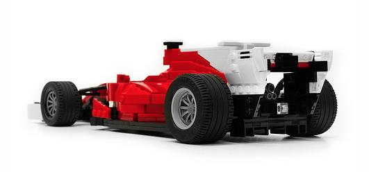 Lego Ferrari 2017 F1 Car The Lego Car Blog